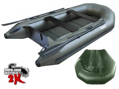 Zweikieler Schlauchboot  NUTRIA 285 2K green