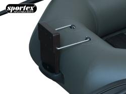 Abnehmare Motorhalterung für Schlauchboote Sportex Delta / Nautilus