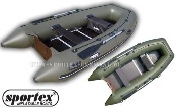 Schlauchboot Sportex Shelf 310K (Festboden + Kiel)