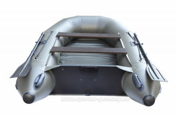 Zweikieler Schlauchboot  NUTRIA 285 K2 green