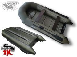 Schlauchboot Sportex NUTRIA 325 K2 oliv-grün