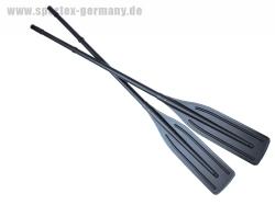 Pulverbeschichtete Alu Paddel 164 cm Schwarz